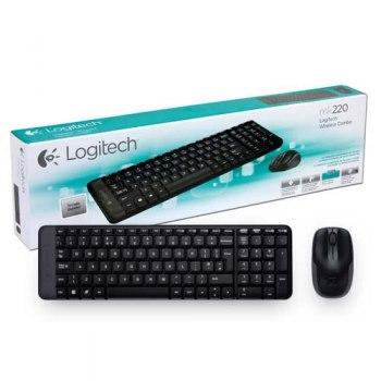Kit Teclado e Mouse - MK220 - LOGITECH