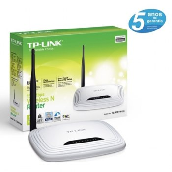 Roteador TP-Link 150Mbps Wireless TL-WR740N