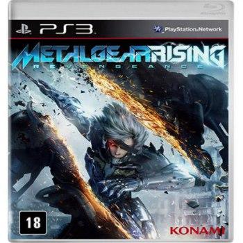 Jogo Metal Gear Rising - Ps3