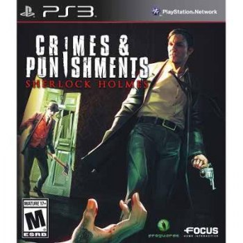 Jogo Crimes e Punishments: Sherlock Holmes - PS3