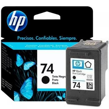 Cartucho de tinta HP 74 - Preto
