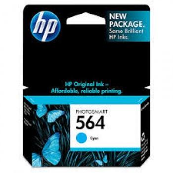 Cartucho de tinta HP 564 - Ciano