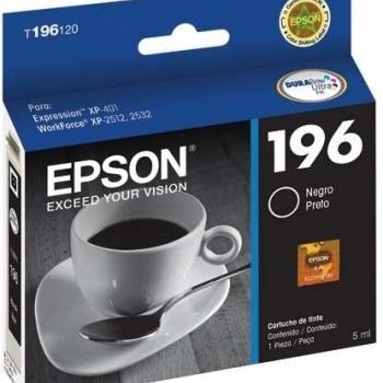 Cartucho de tinta Epson 196 - Preto