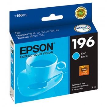 Cartucho de tinta Epson 196 - Ciano