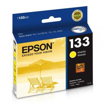 Cartucho de tinta Epson 133 - Amarelo