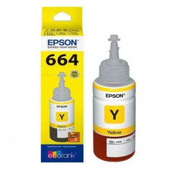 Cartucho de tinta Epson 664 - Amarelo