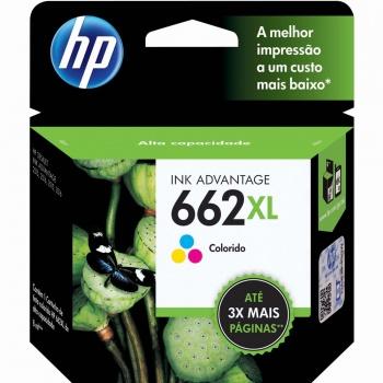Cartucho de tinta HP 662XL - Colorido