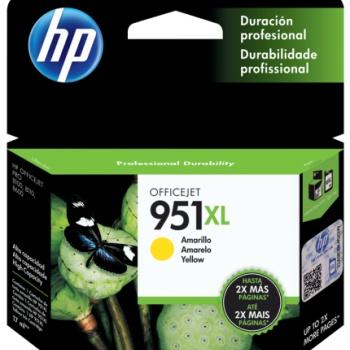 Cartucho de tinta HP 951XL - Amarelo