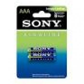 Pilha Alcalina AAAx2 Pack com 2 unidades Sony