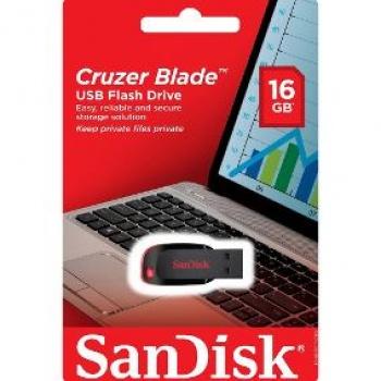 Pen Drive Cruzer Blade 16GB - SANDISK
