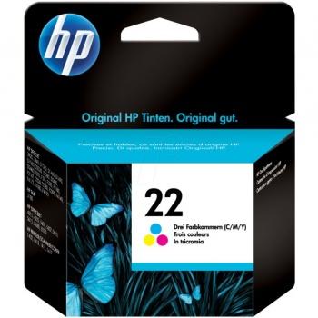 Cartucho de Tinta HP 22 - Colorido