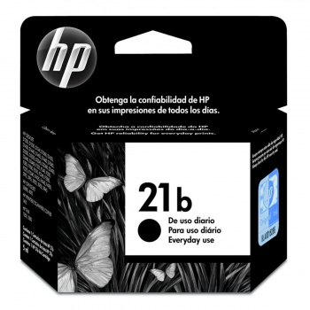 Cartucho de Tinta HP 21b - Preto