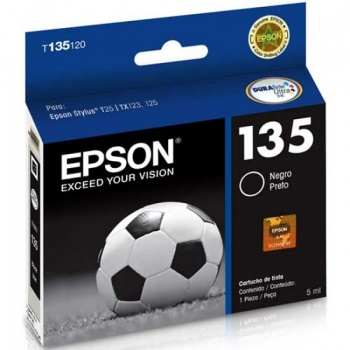 Cartucho de tinta Epson 135 - Preto