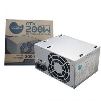 Fonte de Alimentação ATX 200W - PCTOP