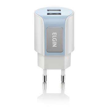 Carregador 2 saidas USB - ELGIN