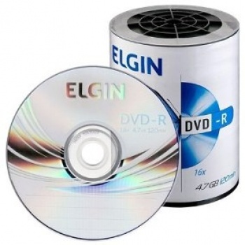 DVD-R 16X 4,7 GB - ELGIN