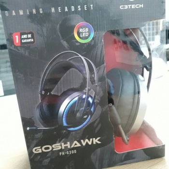 Headset Gamer c/ Microfone Goshawk PH-G300SI - C3TECH