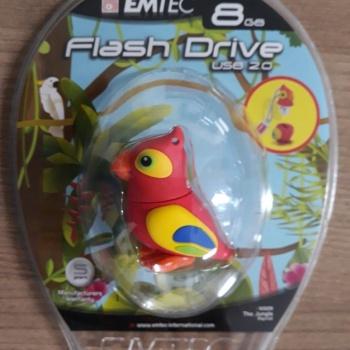 Pen Drive 8GB Parrot - EMTEC