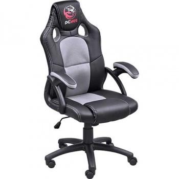 Cadeira Gamer MAD Racer - cinza/preto - PCYES