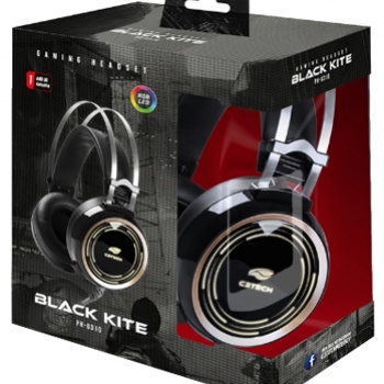 Headset Gamer  Black Kite PH-G310 - C3TECH