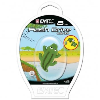 Pen Drive 8GB Crocodile - EMTEC
