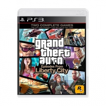 Jogo GTA Episodes From Liberty City - Ps3