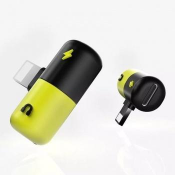 Adaptador Divisor Lightning para Fone de ouvido e Carregador- XC-ADP-05 - X CELL