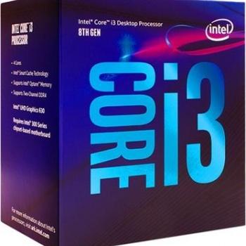 Processador I38100 INTEL