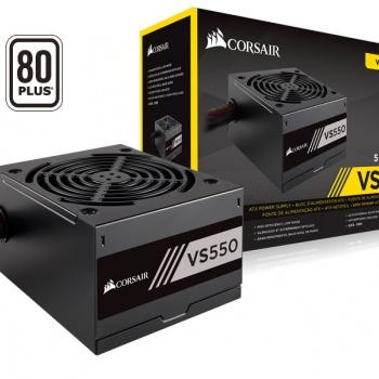 Fonte ATX 550W VS550 80 Plus White - CORSAIR