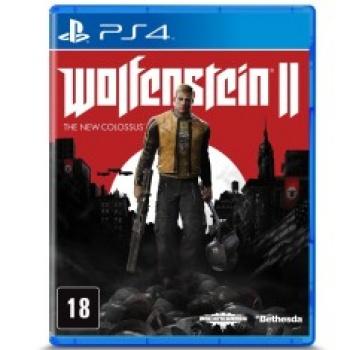 Jogo Wolfenstein 2 - seminovo - Ps4