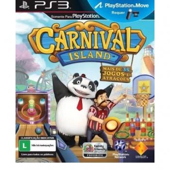 Jogo Carnival Island - seminovo - Ps3