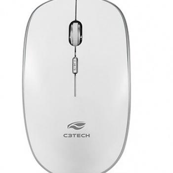 Teclado e Mouse K-W510 Prata - C3TECH