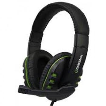 Headset Gamer HG333 preto/azul - GAMEMAX