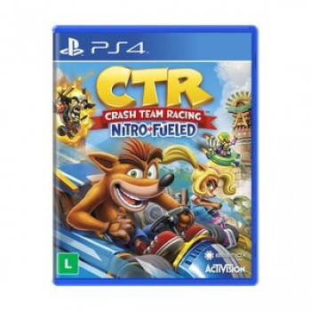Jogo Crash Team Racing - PS4