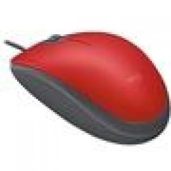 Mouse Optico M110 Silent Vermelho - LOGITECH