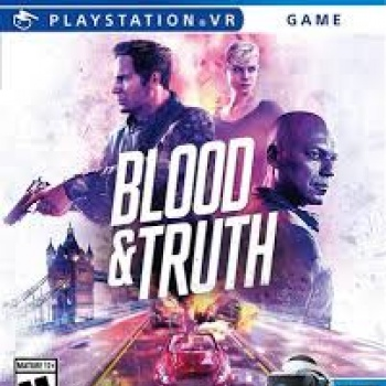 Jogo Blood & Truth - PS4