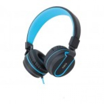 Headset Bluetooth Vibe HS305 Cinza\Azul - OEX