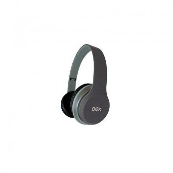 Combo Twin Headset e Fone de Ouvido HF100 Cinza - OEX