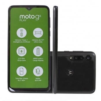 Celular Moto G8 Play Preto - MOTOROLA