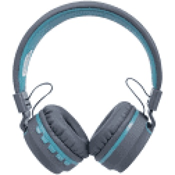 Headset Bluetooth Candy HS 310 Cinza/Azul - OEX