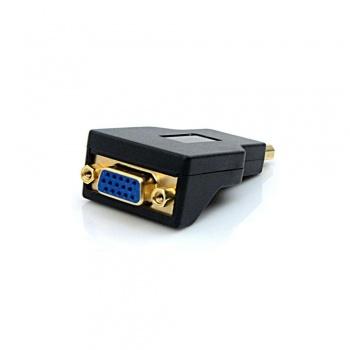 Adaptador Displayport X VGA -  ADP-101BK - PLUS CABLE