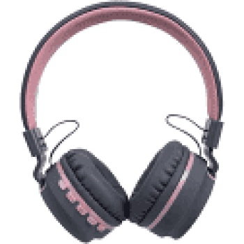 Headset Bluetooth Candy HS310 Cinza/Rosa - OEX