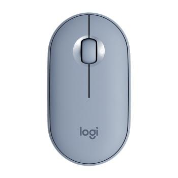 Mouse Bluetooth -  Azul Pebble - M350 - LOGITECH