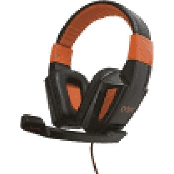 Headset Gamer Combat - HS205 - Preto/Laranja - OEX