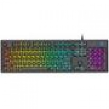 Teclado Gamer Cinza K500F - HP