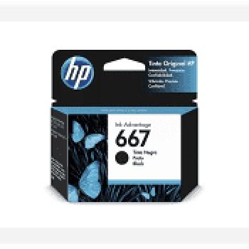 Cartucho de tinta HP 667 - Preto
