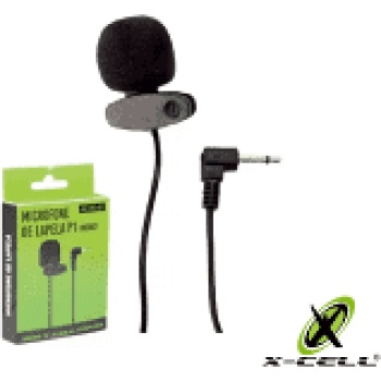 Mini Microfone de lapela P3 - XC -ML - 02