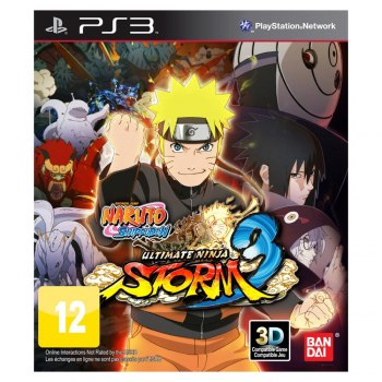 Naruto Shippuden Ultimate Ninja Storm 3 - Ps3