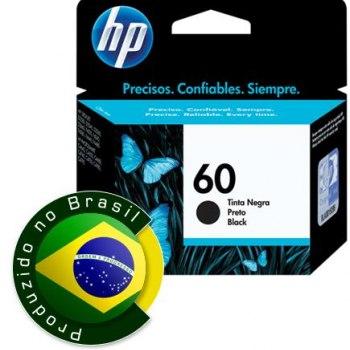 Cartucho de tinta HP 60 - Preto